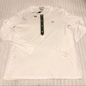 Lacoste Long Sleeve Henley Shirt
